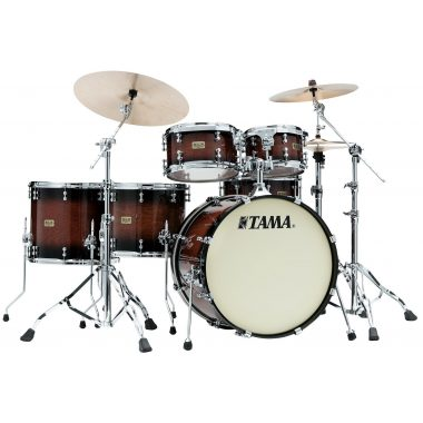 Tama SLP Dynamic Kapur 22in 5pc Shell Pack – Gloss Black Kapur Burst