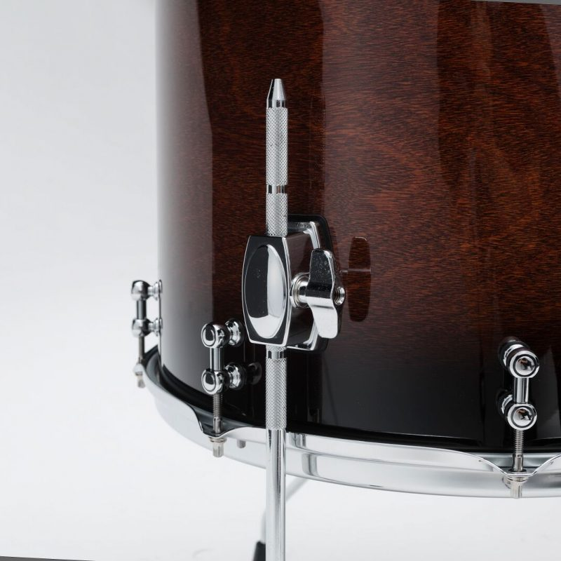 Tama SLP Dynamic Kapur 22in 4pc Shell Pack – Gloss Black Kapur Burst