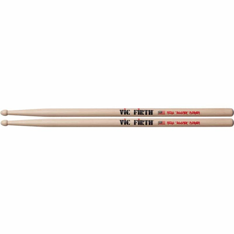 Vic Firth Nicko McBrain Signature Sticks – VF-SNM