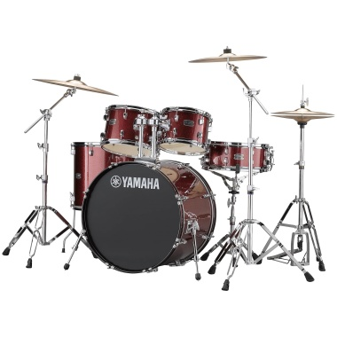 Yamaha Rydeen 22in 5pc Kit – Burgundy Glitter With Paiste Cymbals