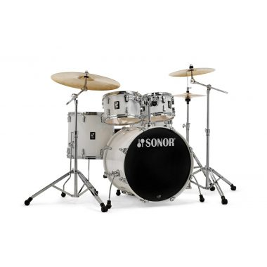 Sonor AQ1 Series 5pc Stage Set with Hardware – Piano White