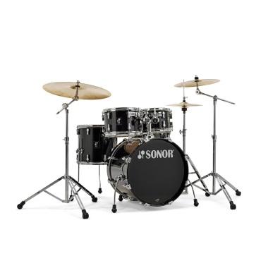 Sonor AQ1 Series 5pc Studio Set with Hardware – Piano Black