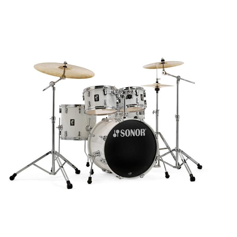Sonor AQ1 Series 5pc Studio Set with Hardware – Piano White