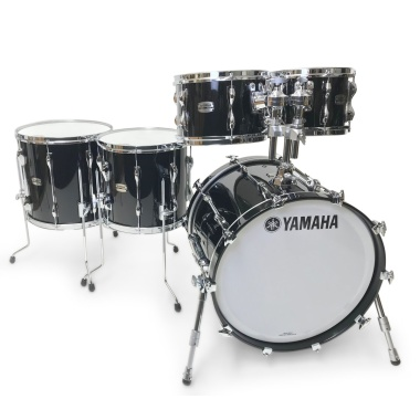 Yamaha Recording Custom 5pc 20in Shell Pack – Solid Black