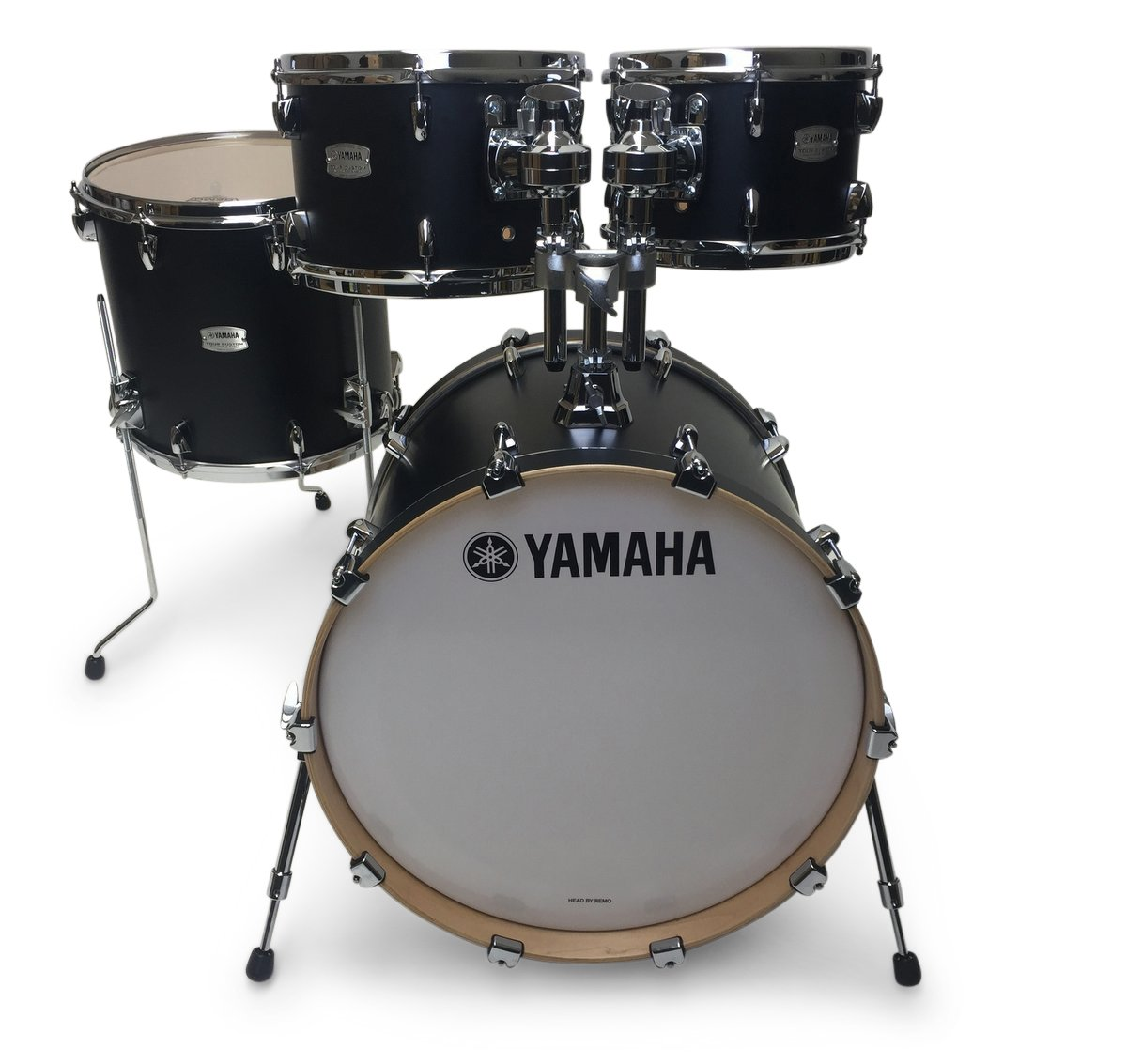 yamaha tour custom 20in 4pc shell pack licorice satin drummers only. Black Bedroom Furniture Sets. Home Design Ideas
