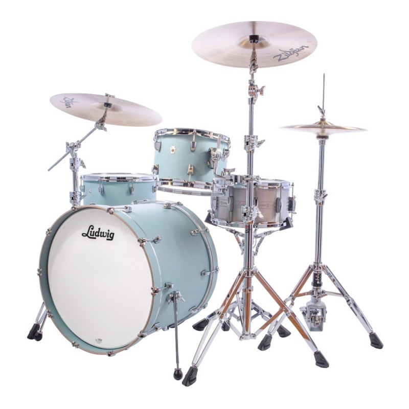 Ludwig NeuSonic Series 22in 3pc Shell Pack – Skyline Blue