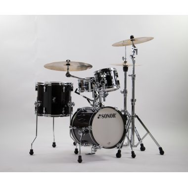 Sonor AQ2 Martini Set 4pc Shell Pack – Transparent Stain Black