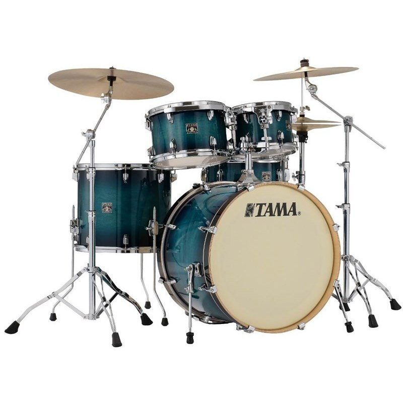 Tama Superstar Classic 5pc Shell Pack – Blue Lacquer Burst