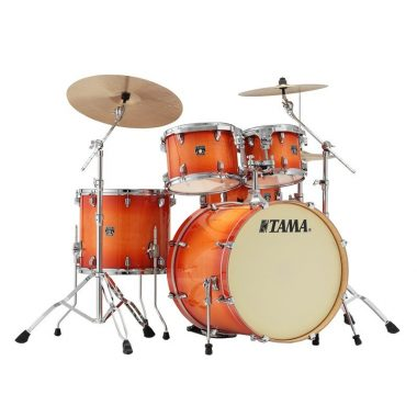 Tama Superstar Classic 5pc Shell Pack – Tangerine Lacquer Burst
