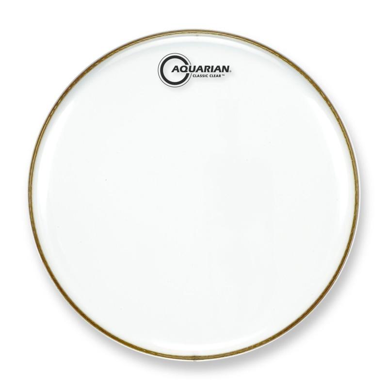Aquarian Classic Clear – 10in Drum Head