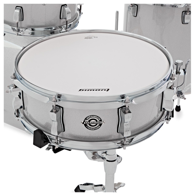 Ludwig Breakbeats Questlove 16in 4pc Shell Pack – White Sparkle