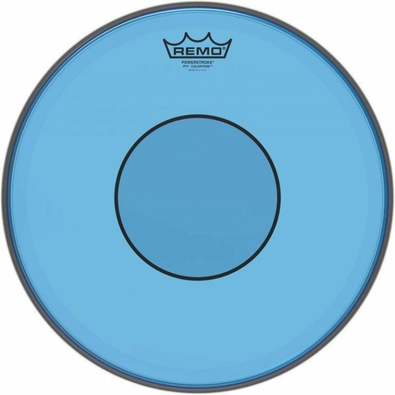 Remo Powerstroke 77 Colortone 14in Blue Drum Head