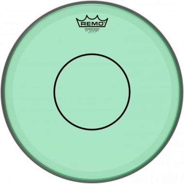 Remo Powerstroke 77 Colortone 14in Green Drum Head