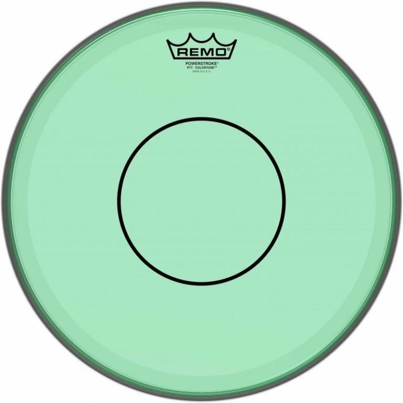 Remo Powerstroke 77 Colortone 14in Green Drum Head