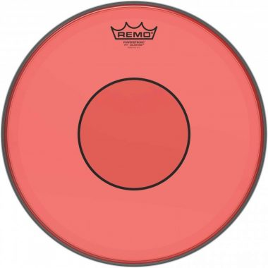 Remo Powerstroke 77 Colortone 14in Red Drum Head