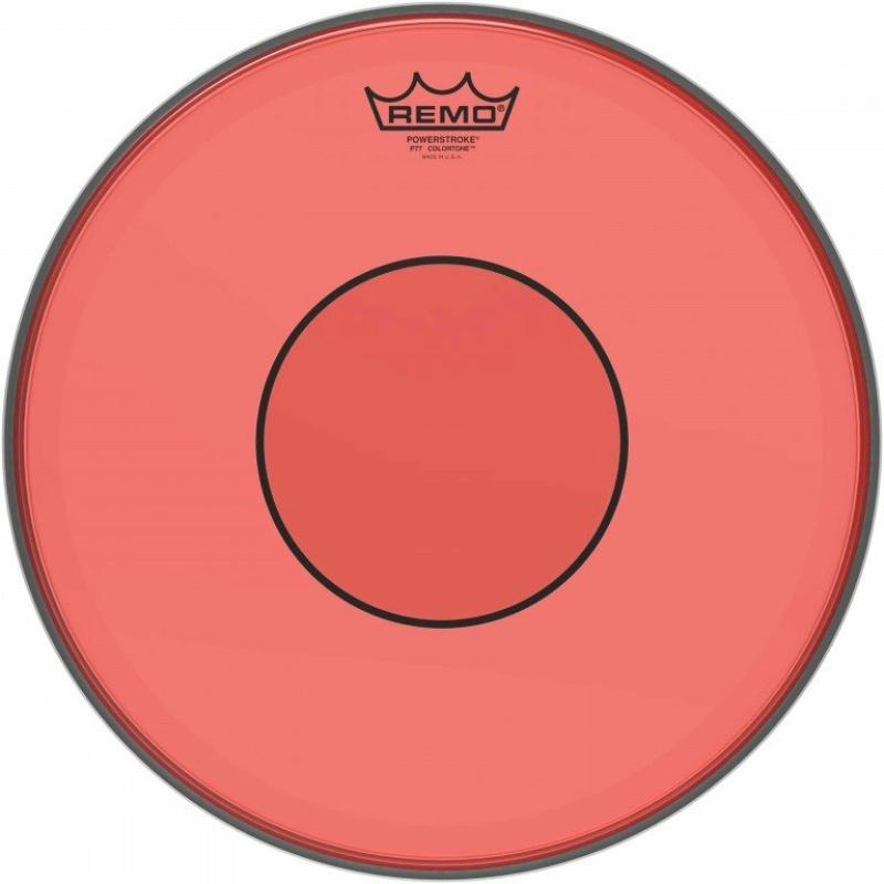 Remo Powerstroke 77 Colortone 14in Red Drum Head