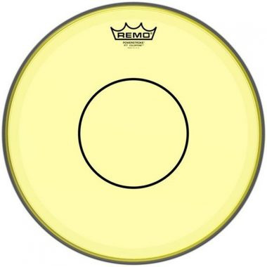 Remo Powerstroke 77 Colortone 14in Yellow Drum Head