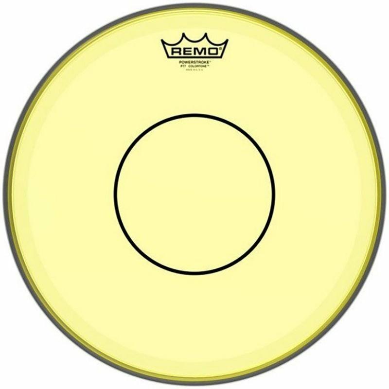 Remo Powerstroke 77 Colortone 14in Yellow Drum Head