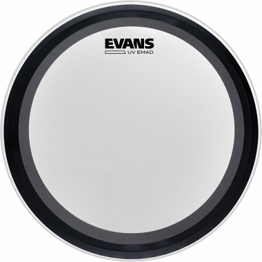Evans UV1 Coated 20in Bass Drum Head