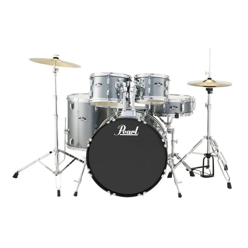 Pearl Roadshow American Fusion 5pc Drum Kit – Charcoal Metallic