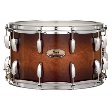 Pearl Session Studio Select 14x8in Snare – Gloss Barnwood Brown