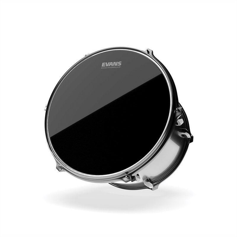 Evans Hydraulic Black 8in Drum Head
