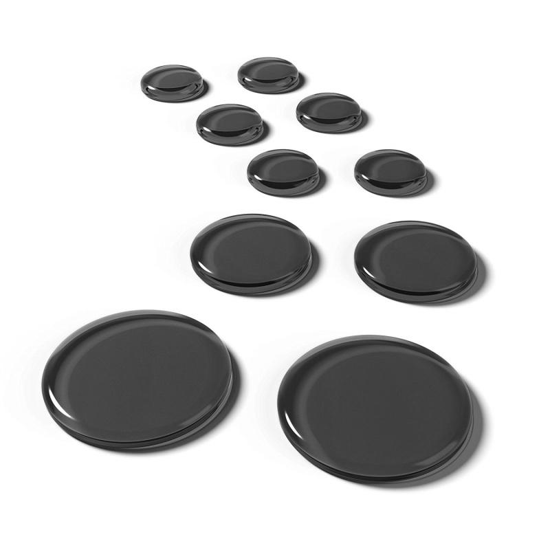 Slapklatz Pro Drum Dampers Pack of 10 – Black