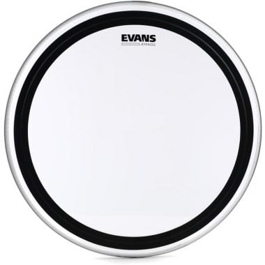 Evans EMAD 2 Clear 26in Bass Drum Head