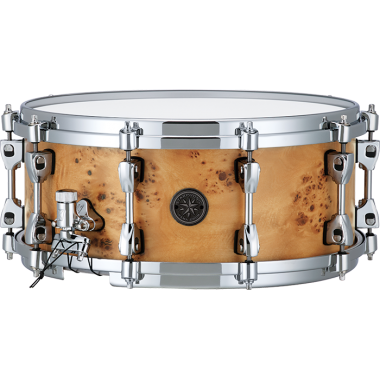 Tama Starphonic 14x6in Maple Snare – Satin Mappa Burl