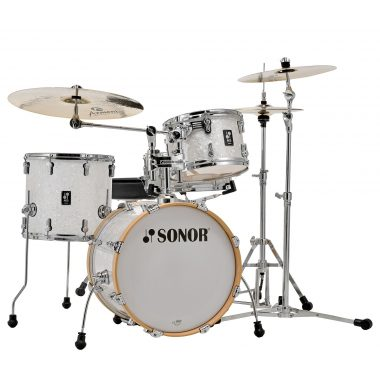 Sonor AQ2 Bop Set 4pc Shell Pack – White Pearl