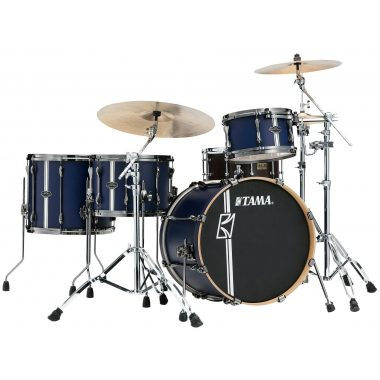 Tama Superstar Hyperdrive DUO Shell Pack – Satin Blue Vertical Stripe