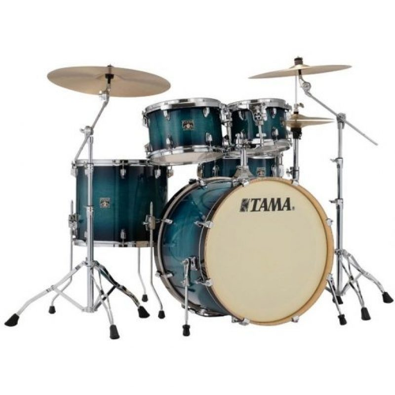 Tama Superstar Classic 20in – 5 Piece Shell Pack – Blue Lacquer Burst