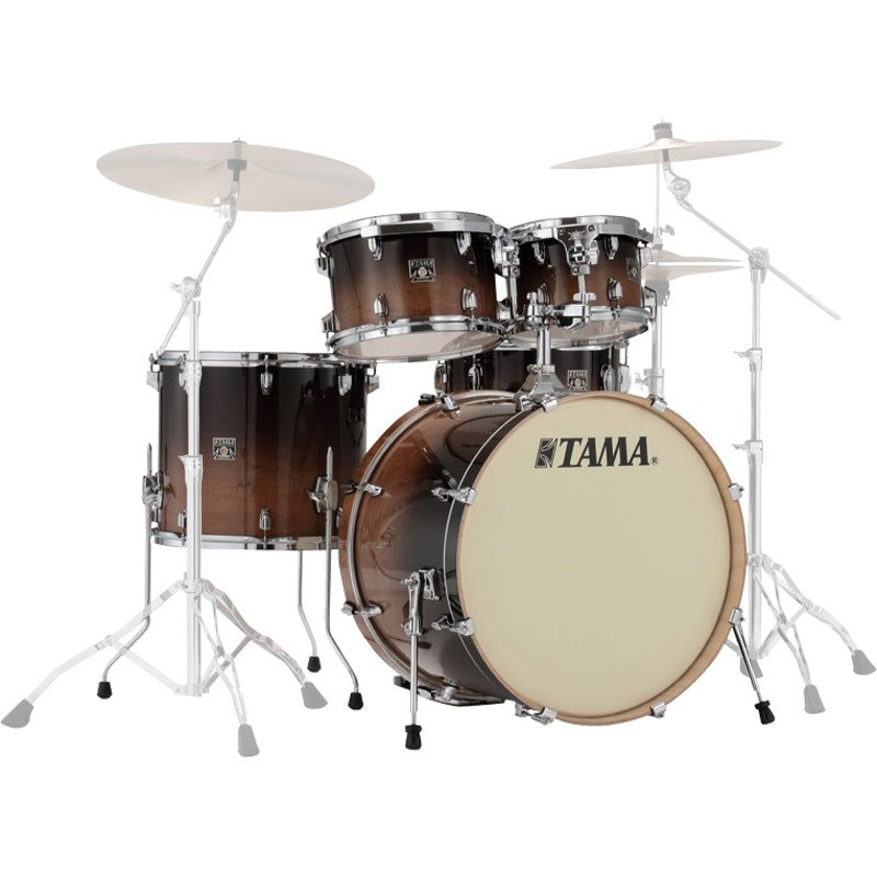 Tama Superstar Classic  20in – 5 Piece Shell Pack – Coffee Fade
