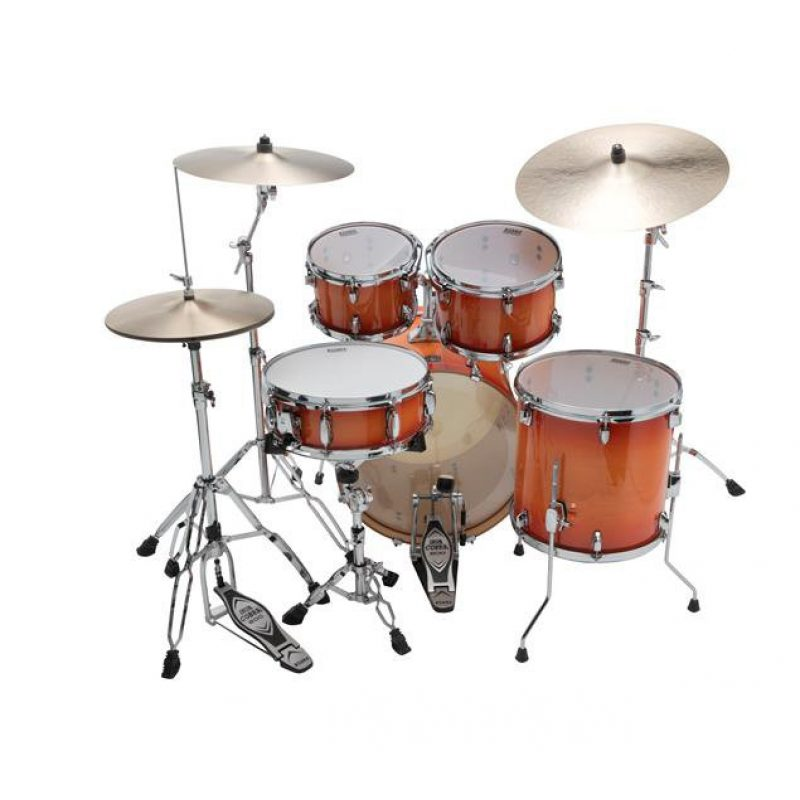 Tama Superstar Classic  20in – 5 Piece Shell Pack – Tangerine Lacquer Burst