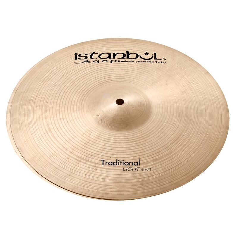 Istanbul Traditional 16in Light Hi-Hats