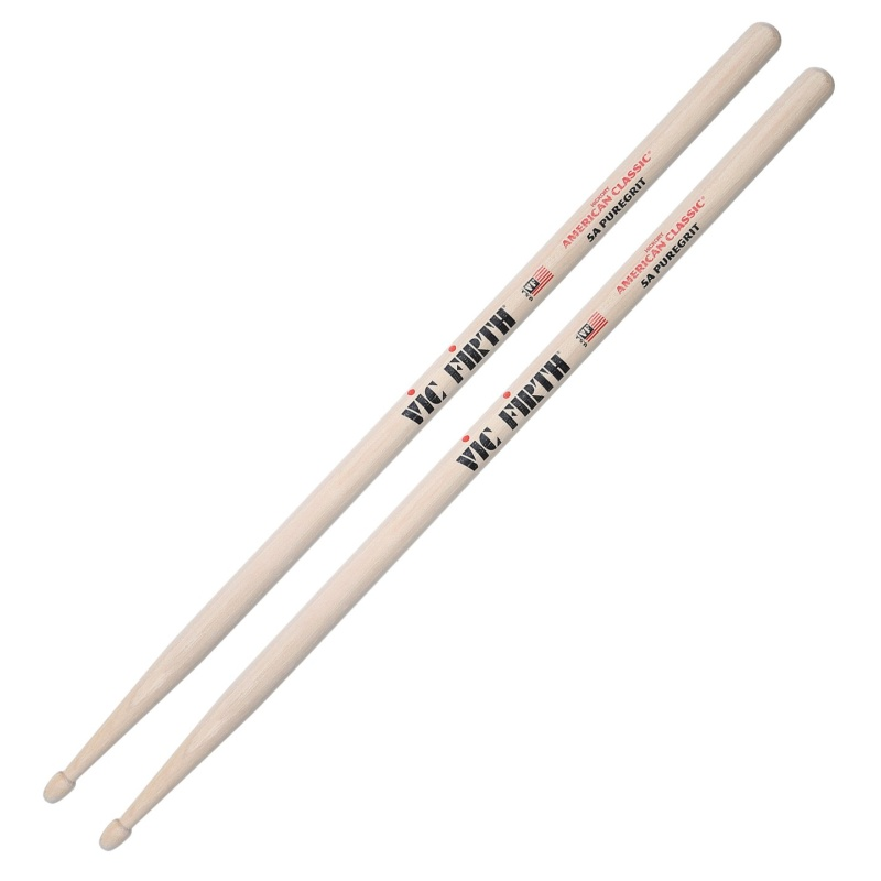 Vic Firth 5A PureGrit – Hickory Wood Tip