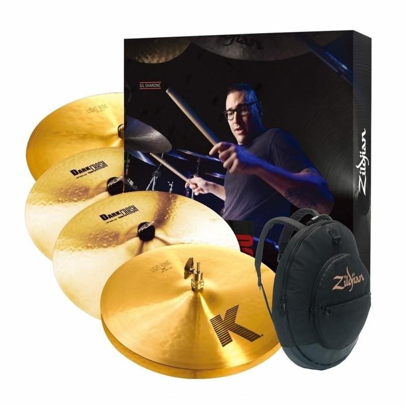Zildjian K Cymbal Set With Gig Bag KP100