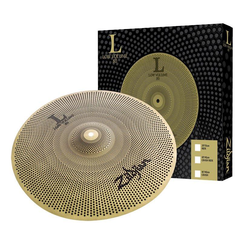 Zildjian 14in Low Volume L80 Hi Hat Pair Set