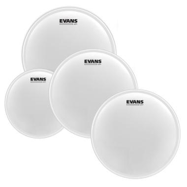 Evans UV1 Coated 10/12/16 Pack + UV1 14in Snare Batter