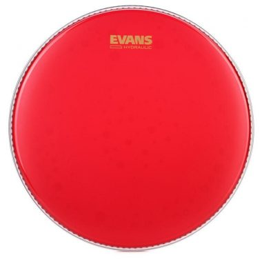 Evans Hydraulic Red Coated 14in Drum Head