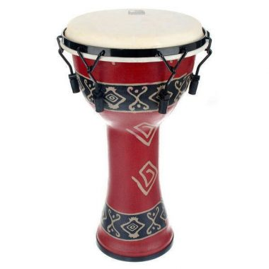 Toca 10in Freestyle Djembe – Bali Red