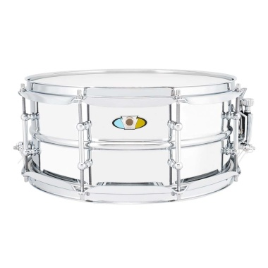 Ludwig Supralite 14×6.5in Steel Snare, With P88i Throw Off