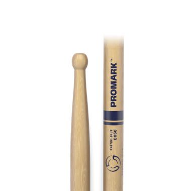 ProMark System Blue DC50 Hickory Marching Sticks TXDC50W