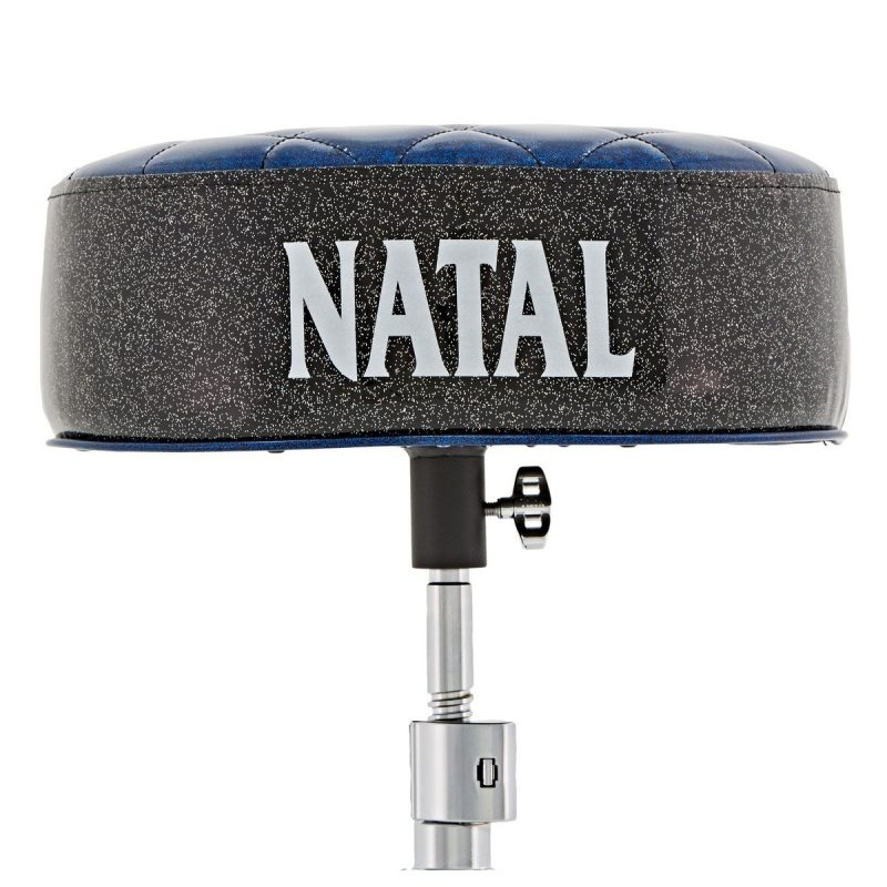Natal Fat Top Throne – Blue With Black Sides