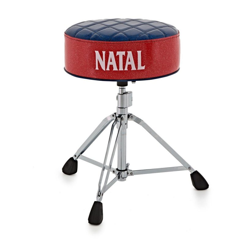 Natal Fat Top Throne – Blue With Red Sides