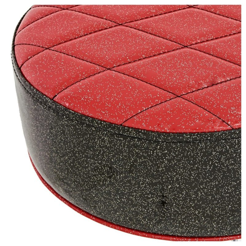 Natal Fat Top Throne – Red With Black Sides