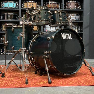 Natal Originals Walnut 22in 4pc UFX Shell Pack – Cerulean Blue