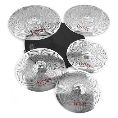 Kasza Quiet On The Set Low Volume Cymbal Pack