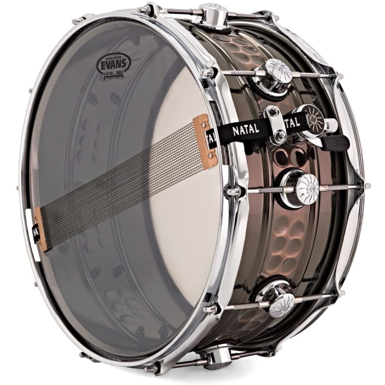 Natal Cafe Racer 14x7in Beaded Steel Snare Drum