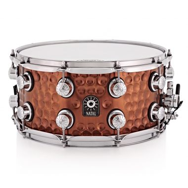Natal 13x7in Hand Hammered Cafe Racer Snare Drum